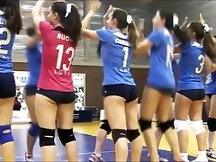 SWEETS rump SWEETS cameltoe on volleyball