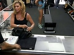 Gym trainer selling her stuff and smashed at the pawnshop