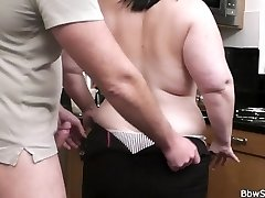 Husband caught cheating with fat bitch