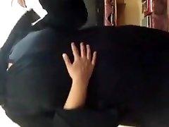 العربية الحجاب bbw