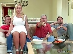Brazzers - Stepmom takes some young pink cigar