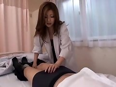 Best Asian chick Rio Hamasaki in Incredible Nurse, Blowjob JAV flick