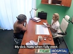 FakeHospital Sizzling humid pussy solves penis problem