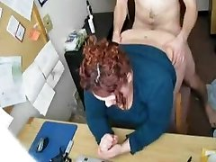 Fucking my Horny Fat Plus-size Secretary on Hidden Cam