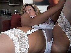 Big boobs erotic babe creampie fuck