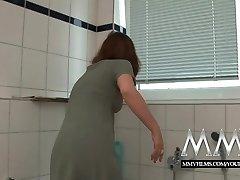 MMV Films Sexy German housewife luvs a big dick