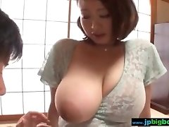 Huge-boobed japanese girl groped and fucked Two/4