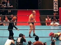 Scorching mingled wrestling