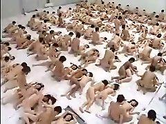 Enormous Group Fuckfest Orgy