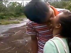 Thai fuck-fest rural shag