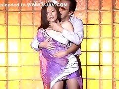 Crazy Japanese chick Yuna Shiina in Hottest Internal Ejaculation, Hardcore JAV pinch