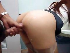 Asian girl pummeled in public