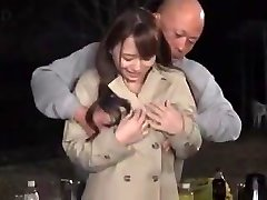 Marina Shiraishi humungous boobs girl have hook-up outdoor