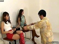 CFNM Asian Female Dom