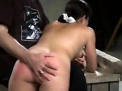 Electroplay Spanking And Masturbation