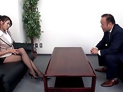 Secretary Tempts Her Boss