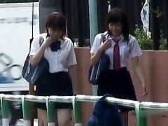 Japanese Undies-Down Sharking - Schoolgirls Pt 2- CM