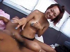 Naughty Japanese model in Fabulous Public, Masturbation JAV clip