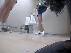 Korean gal using toilet part Five