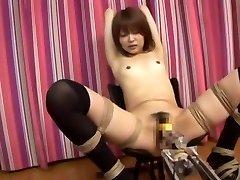 Incredible Japanese girl Miyu Sugiura in Fabulous Small Tits, Smashing Machines JAV clip
