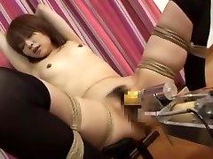 Incredible Asian chick Miyu Sugiura in Fabulous Small Tits, Fucking Machines JAV clip