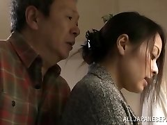 Mina Kanamori hot Japanese cougar is a horny housewife