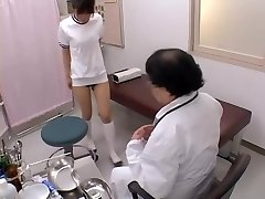 Asian broad with sexy bumpers gets her ass-cheek fingered in sex film