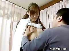 Patient visiting chick asian doctor