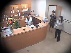 2 cute Asians screwed hard in spycam massage video