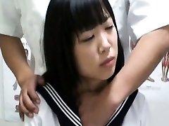 Spycam Schoolgirl climax Massage 1
