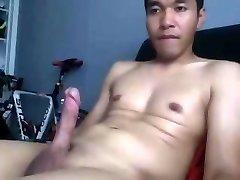 chinese guy wanking