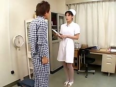 Perfect Japanese Nurse FELLATIO CIM