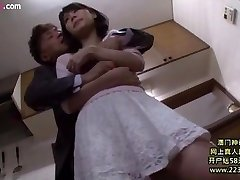 cheating wife fucked with husband boss Six
