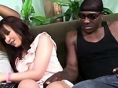 Marica Hase sploogs while dp'd by Black Cocks