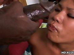 Chinese bitch Kyanna Lee interracial sex