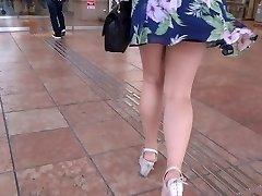 Sumptuous Legs Walk 006