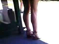 High Heels Asian Teenie