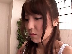 Exotic Chinese girl Kokoro Maki in Hottest rimming, duo JAV scene