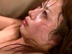 Crazy Asian girl Mau Morikawa in Insatiable Cuckold, Gangbang JAV video