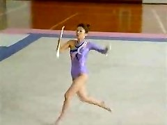 Chinese Naked Gymnast