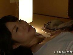 Warm Asian milf Chizuru Sakura bangs with her neighbor