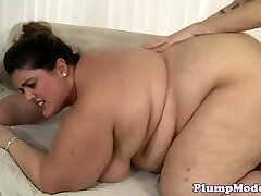 SSBBW babe with bigtits bentover and humped