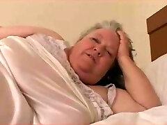 SSBBW Granny Anal Boning