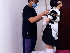 Japanese Maid Bondage and Punish
