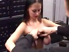 Pincushion boobs