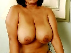 Lucious big titted plumper takes a hard one in the anus!
