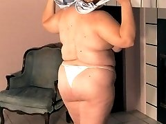 Fat British slut spreads her legs