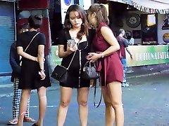 Pattaya Walking Street Nightlife and ladyboy,Thailand 2020