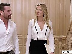 VIXEN Paralegal Has Molten Sex With Client