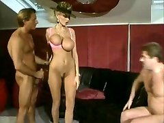 Dolly Buster and two guys